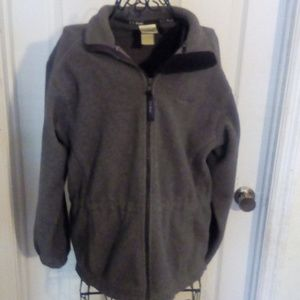 L.L. Bean fleece full zip